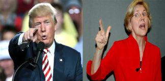 Donald Trump, Elizabeth Warren