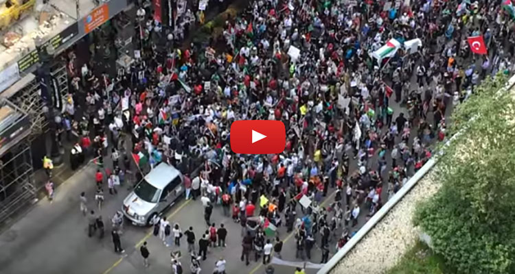 Watch  Muslims In This U S  City Chant  U2018death To America