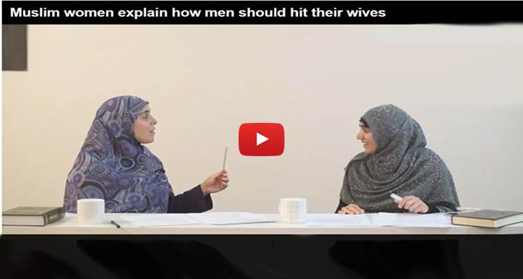Muslim Teacher Demonstrates How Men Should BEAT Wives ...