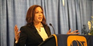 california democrats kamala harris 2020 elections