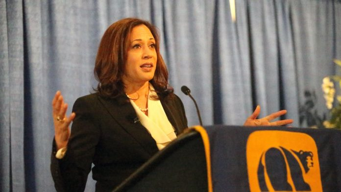 california democrats kamala harris 2020 elections