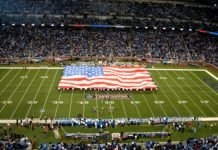 nfl players national anthem