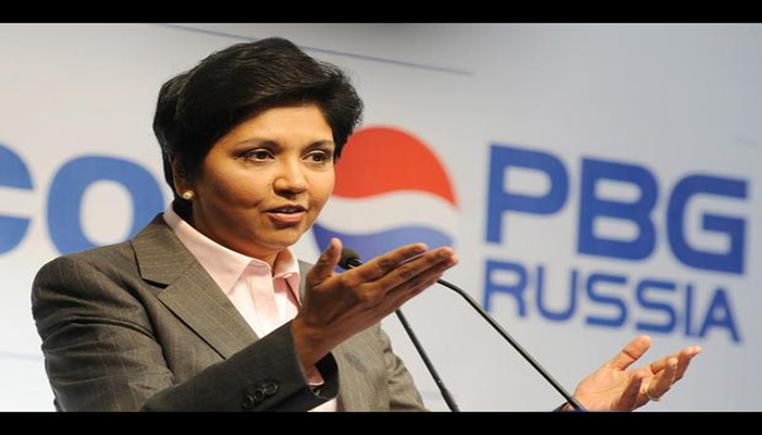 Pepsi Co CEO and chairperson Indra Nooyi has instead chosen db3461429