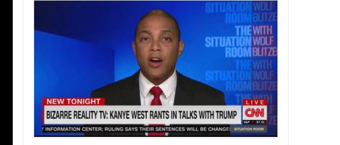 CNN's Don Lemon Uses Kanye's Dead Mother to Attack Him: She 'Would