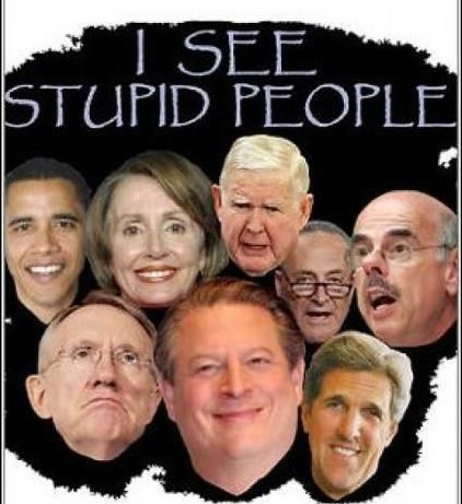 democrats stupid dumb
