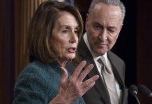 2020 budget, pelosi, schumer, trump