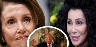 Cher, Nancy Pelosi, Donald Trump, cher honors pelosi