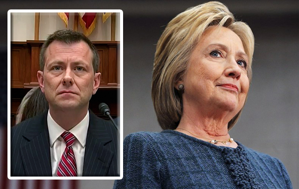 strzok, hillary, doj, fbi, clinton foundation emails
