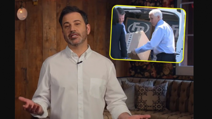 Jimmy Kimmel, mike pence